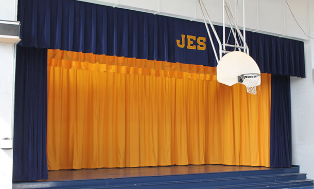 Stage Curtains Theatrical School